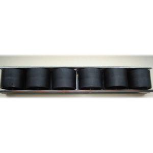 30mm steel roller track